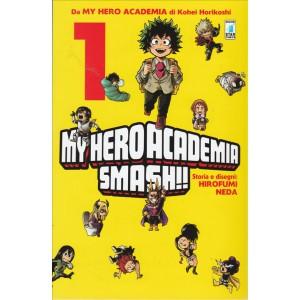 Manga: MY HERO ACADEMIA SMASH!! #1 - Star comics collana Dragon # 227