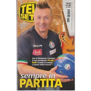 """Telesette  - settimanale n. 22 - 23 Maggio 2017 """"Paolo Belli"""""""