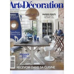 Art & Décoration - bimestrale n. 523 Maggio 2017 (lingua Francese/Italiano)