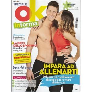 OK in forma - Speciale di Fitnes & beauty - bimestrale n. 6 Maggio 2017