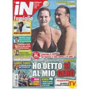 """In Famiglia - settimanale n. 19 - 18 Maggio 2017 """"Simona Ventura"""""""