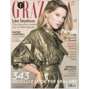 """Grazia - settimanale n. 22 - 18 Maggio 2017 """"Lea Seydoux"""""""
