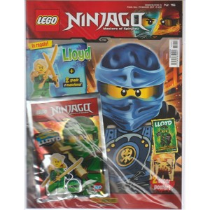 Panini Blocks - Lego Ninjago N.15 - bimestrale Maggio 2017 - Magazine + bustina