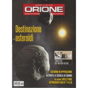 """Nuovo Orione - mensile n. 301 Giugno 2017 - """"destinazione asteroidi"""""""