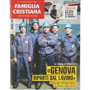 """Famiglia Cristiana """"I Fatti mai Separati dai valori""""settim.n. 22-28 Maggio 2017"""