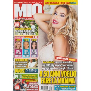 """MIO - settimanale n. 21 - 1 Giugno 2017""""Valeria Marini"""""""