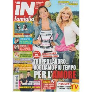"""In Famiglia - settimanale n. 20 - 25 Maggio 2017 """"D'Urso / Clerici"""""""