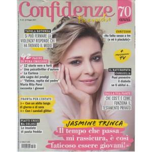 """Confidenze (tra amiche) - settimanale n. 22 - 24 Maggio 2017 """"Jasmine Trinca"""""""