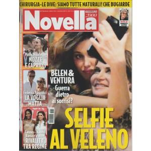"""Novella 2000 - settimanale n. 22 -  Giugno 2017 """"Belen & Ventura"""""""