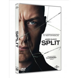 DVD -  Split - regista M. Night Shyamalan
