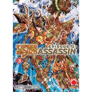 Manga: I Cavalieri dello Zodiaco-Episode G Assassin 3 - Planet Manga Presenta 78