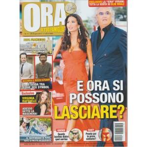 """ORA - settimanale n. 11 - 8 Giugno 2017 """"I Briatore"""""""