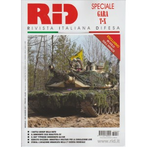 "RID (Rivista Italiana Difesa) - mensile n. 6 Giugno 2017 ""speciale Gara T-X"""