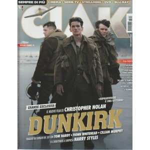 "Ciak - mensile n. 6 Giugno 2017 ""DUNKIRK"""