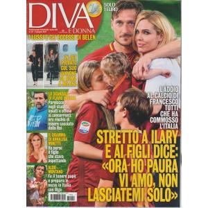 """Diva e Donna  - settimanale n. 22 - 6 Giugno 2017 """"Francesco Totti"""""""