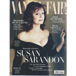 "Vanity Fair  - settimanale n. 22 7 Giugno 2017 "" Susan Sarandon"""