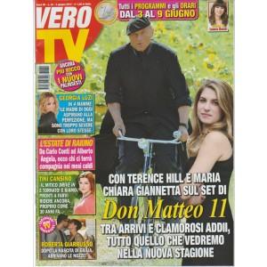 """Vero Tv - settimanale n. 22 - 5 giugno 2017 """"Don Matteo 11"""""""