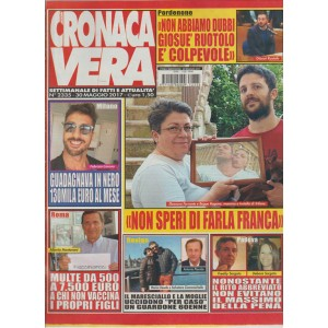"""Nuova Cronaca Vera - settimanale n. 2335 - 30 maggio 2017 """"Giosuè Ruotolo"""""""