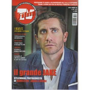 FILM TV. N. 37. /2016. PROGRAMMI TV RADIO & FILODIFFUSIONE DAL 18 AL 24 SETTEMBRE. TRAME E SCHEDE DEI FILM SU DIGITALE TERRESTRE E SATELLITI