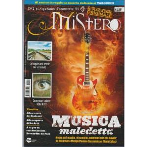 """Mistero Magazine - mensile n. 51 Giugno 2017 """"Musica maledetta"""""""