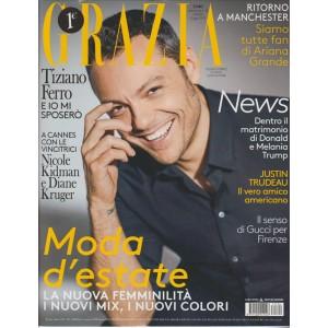 """Grazia - settimanale n. 24 - 1 Giugno 2017 """"Tiziano Ferro"""""""