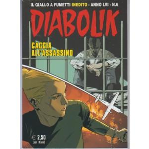 """Diabolik - mensile n. 6 Giugno 2017 """"Caccia all'assassino"""""""