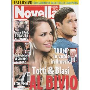 """Novella 2000 - settimanale n. 23 - 8 giugno 2017 - """"Totti & Blasi"""""""