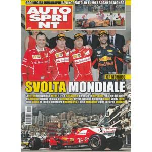 """Autosprint - settimanale n. 22 - 30 Maggio 2017 """"GP Monaco: svolta mondiale"""""""