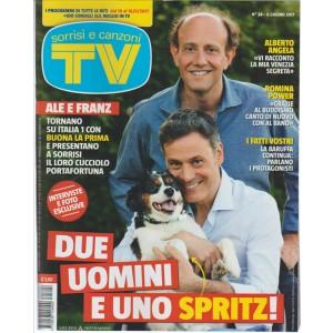 """Sorrisi e Canzoni Tv -settimanale n. 24-6 giugno 2017 """"Ale e Franz e uno Spritz!"""""""