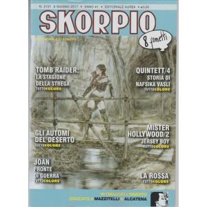 Skorpio - Settimanale di fumetti n. 2101 - 8 giugno 2017  (8 Fumetti)