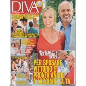 """Diva e Donna-Settimanale n. 23-13 Giugno 2017 """"Nuova vita per Antonella Clerici"""""""