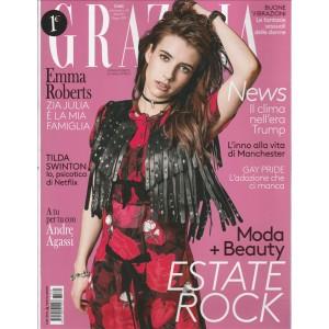 """Grazia - settimanale n. 25 - 8 Giugno 2017 """"Emma Roberts"""""""