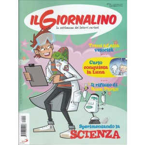 Il Giornalino - la Settimana dei lettori curiosi n. 24 - 11 Giugno 2017