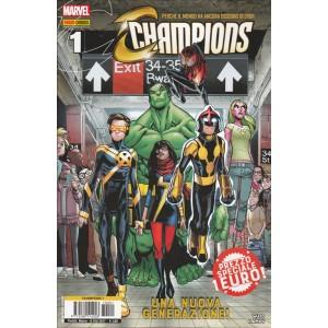 """Champions   1 - Panini Comics  """"Una nuova generazione!"""""""