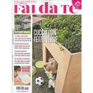 """Fai da Te - bimestrale n. 82 Giugno 2017 """"Cuccia con tetto verde"""""""