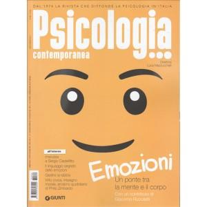 """Psicologia Contemporanea - bimestrale n. 262 Luglio 2017 """"Emozioni"""""""