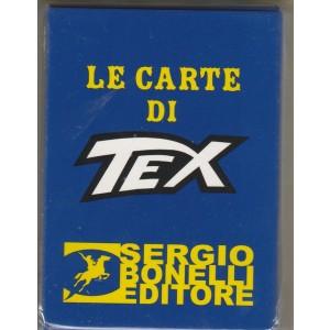 Le Carte da gioco di Tex - Mazzo completo 54 carte