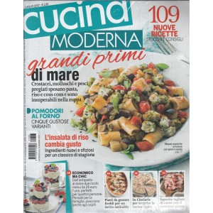 "Cucina Moderna - mensile n. 7 Luglio 2017 ""Grandi primi di Mare"""