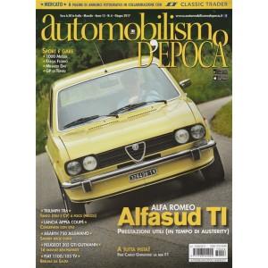 "Automobilismo d'Epoca - mensile n. 6 Giugno 2017 ""Alfa Sud TI"""