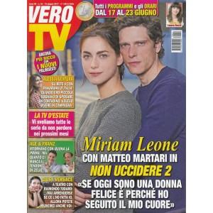 """Vero TV - settimanale n. 24 - 19 giugno 2017 """"Miriam Leone con Matteo Martari"""""""