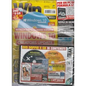 Win Magazine vers.Base-mensile n.7(233) luglio 2017 c/doppio DVD 8GB di contenuto