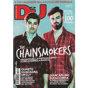 Dj Mag. Italia - mensile n. 71 Gigno 217  - The Chainsmokers