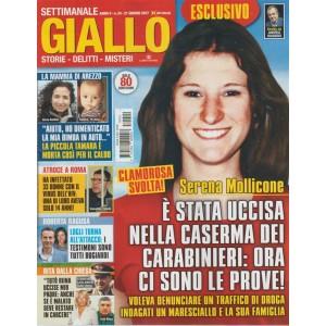 """Giallo - settimanale n. 24 - 21 Giugno 2017 """"Serena Mollicone"""""""