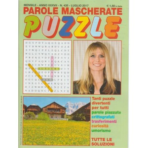 Parole Mascherate Puzzle - mensile n. 435 Luglio 2017