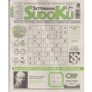 Settimana Sudoku - n. 618 - 16 giugno 2017