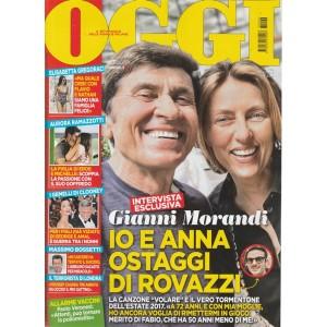 Oggi -settimanale n.26 - 22giugno2017  Gianni Morandi e Anna ostaggi di Rovazzi