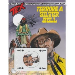 Tex Nuova Ristampa - mensile n. 422 - Terrore A Silver Bel + carte gioco