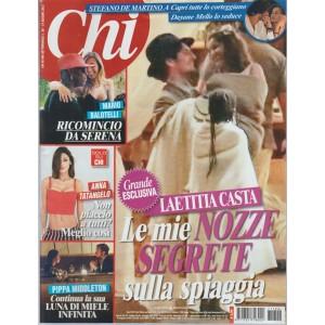 """CHI - settimanale n. 26 - 14 giugno 2017 """"le nozze segrete di Laetitia Casta"""""""
