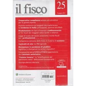 """Il Fisco - settimanale n. 25 - 19 Giugno 2017 """"Fusione Inversa"""