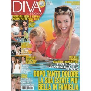 Diva e Donna  - Settimanale n. 25 - 27 Giugno 2017 Michelle Unziker racconta i momenti bui